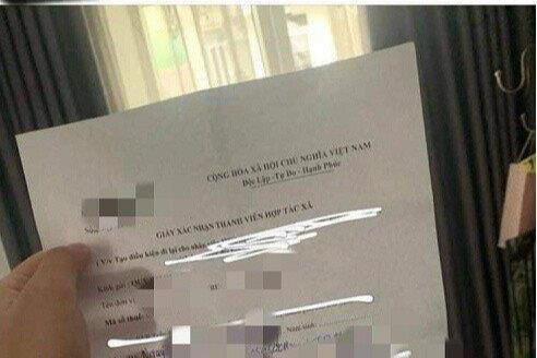 """Giám đốc HTX ký khống """"giấy thông hành"""" cho con gái bị phạt 7,5 triệu đồng"""
