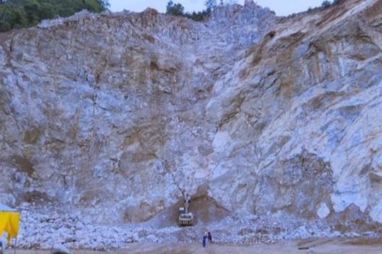 Cơ quan chức năng tỉnh Hà Nam thông tin chính thức về vụ tai nạn sập mỏ đá