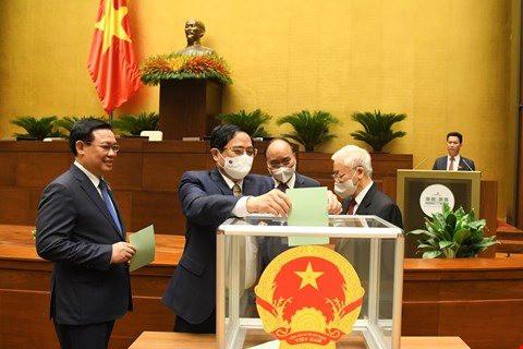 Danh sách 4 Phó Chủ tịch Quốc hội và 13 Ủy viên UBTVQH vừa trúng cử