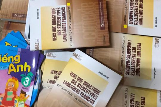 Phát hiện số lượng lớn sách xuất bản phẩm, bán thành phẩm nghi in lậu