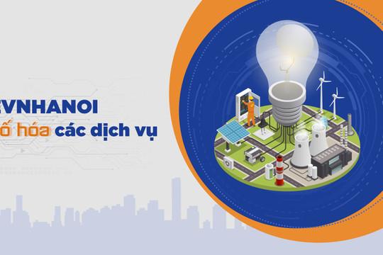 Phấn khởi vì có thể đăng ký thay đổi định mức sử dụng điện của gia đình ngay tại nhà