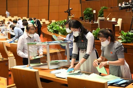 Ngày làm việc thứ 2: Quốc hội tiếp tục bầu các chức danh quan trọng