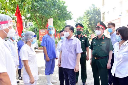 Bí thư Thành ủy Hà Nội Đinh Tiến Dũng: Nâng mức nguy cơ trong kịch bản chống dịch, diễn tập ngay cơ chế vận hành