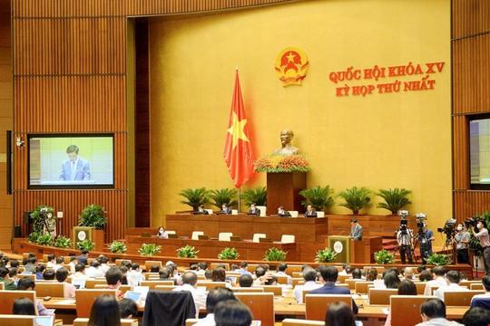 Quốc hội thảo luận về cơ cấu tổ chức của Chính phủ nhiệm kỳ Quốc hội khóa XV