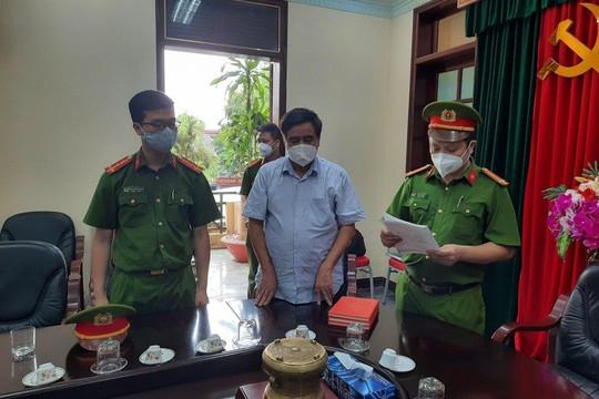 Nguyên quyền Cục trưởng Cục QLTT Hải Dương bị bắt tạm giam