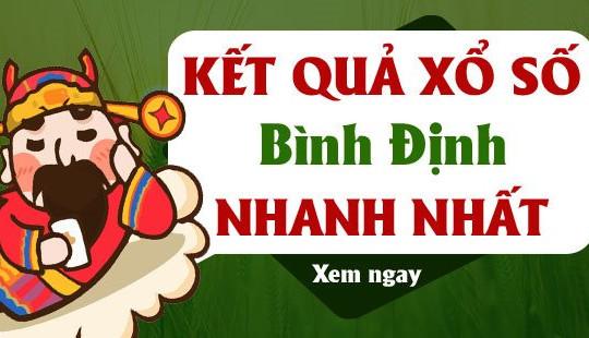 KQXSBDI 29/7 - XSBDH 29/7 - Kết quả xổ số Bình Định ngày 29 tháng 7 năm 2021