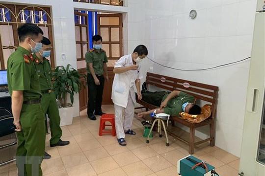 Yên Bái: Công an huyện Văn Chấn tham gia hiến máu cứu sống sản phụ