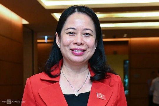 Bà Võ Thị Ánh Xuân tiếp tục làm Phó Chủ tịch nước nhiệm kỳ 2021-2026