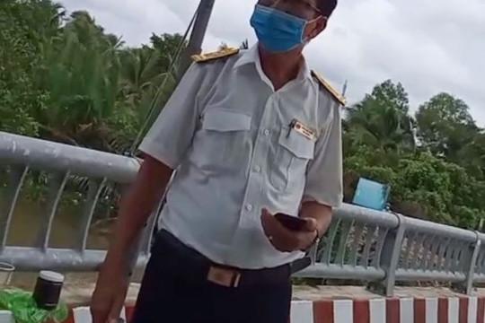 """Bến Tre: Đội trưởng Chi cục Thuế 2 lần """"vượt"""" chốt kiểm dịch"""