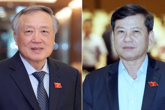 Hai Tư lệnh ngành Tư pháp đều tái đắc cử với 100% đại biểu Quốc hội tán thành