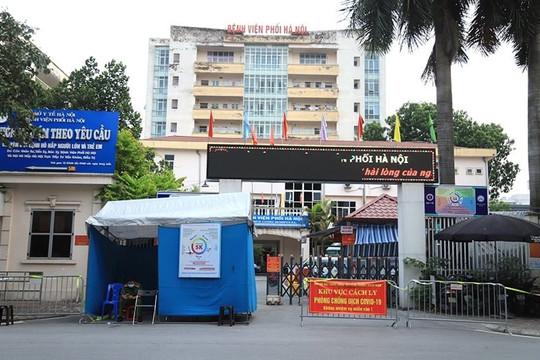 Bệnh viện Phổi Hà Nội tạm dừng hoạt động, chuyển người bệnh sang 4 bệnh viện khác