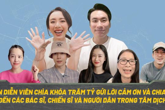 Thu Trang - Kiều Minh Tuấn cổ động chống dịch