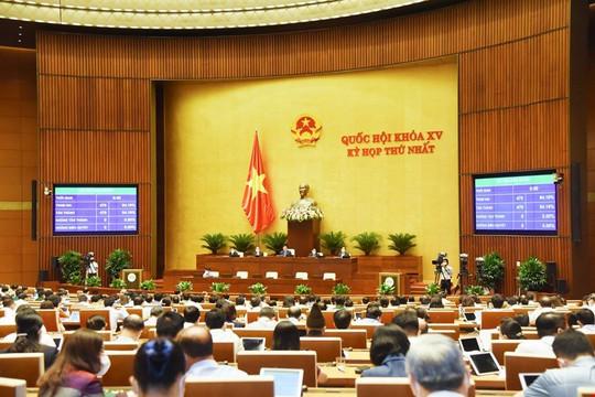 Quốc hội thảo luận 2 chương trình mục tiêu quốc gia, biểu quyếtcác nghị quyết quan trọng