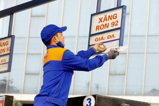 Từ 15h00 hôm nay, giá xăng, dầu đồng loạt giảm