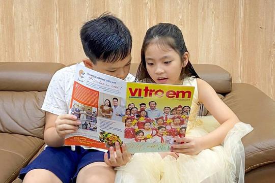 Ra mắt ấn phẩm Vì trẻ em – Diễn đàn dân sinh bảo vệ, chăm sóc trẻ em