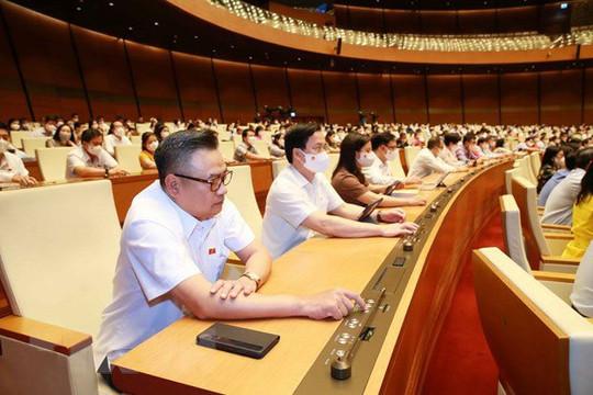 Quốc hội thông qua Nghị quyết phê chuẩn bổ nhiệm Thẩm phán TANDTC