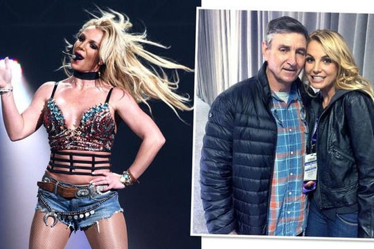 Britney Spears đòi hủy quyền giám hộ tài sản của cha ruột