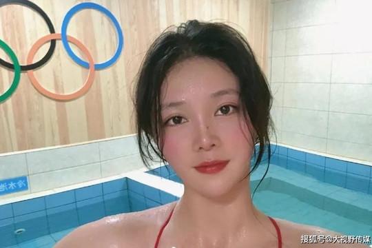 Vẻ đẹp thiên thần của VĐV bóng nước Trung Quốc tại Olympic Tokyo 2020