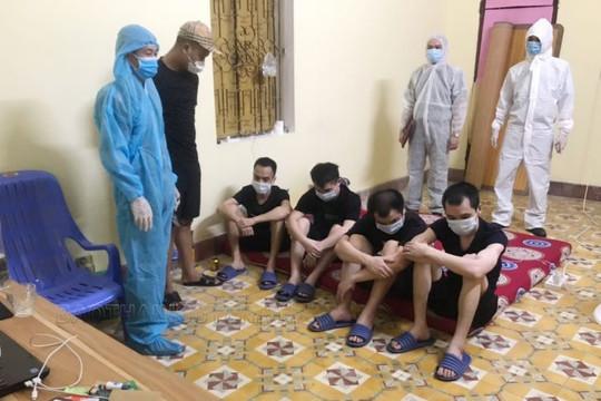 Phát hiện 4 người Trung Quốc nhập cảnh trái phép ở Thái Nguyên
