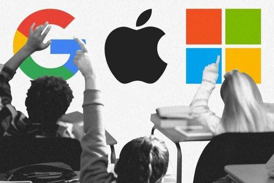 "Apple, Microsoft, Google ""bội thu"" giữa đại dịch"
