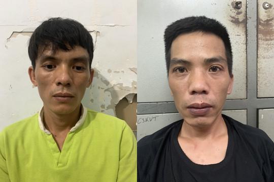 Tạm giữ hai đối tượng cướp giật tài sản tại quận Bắc Từ Liêm