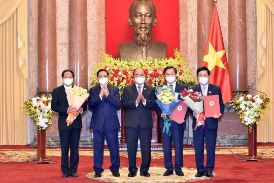 Ban hành Nghị quyết phê chuẩn đề nghị bổ nhiệm Phó Thủ tướng Chính phủ
