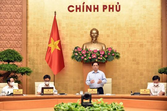 Thủ tướng: Dứt khoát không để khủng hoảng y tế, kinh tế xã hội và truyền thông