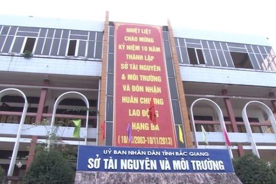 Kỷ luật cảnh cáo Phó giám đốc Sở TN&MT Bắc Giang Ngô Văn Xuyên