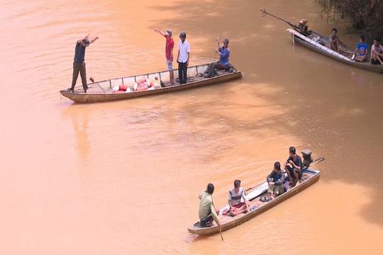 Lào Cai: Một người bị nước lũ cuốn mất tích