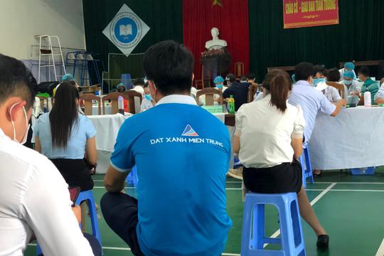 Quảng Nam: Đề nghị kiểm điểm việc ưu tiên tiêm vắc xin phòng Covid-19 cho DN bất động sản