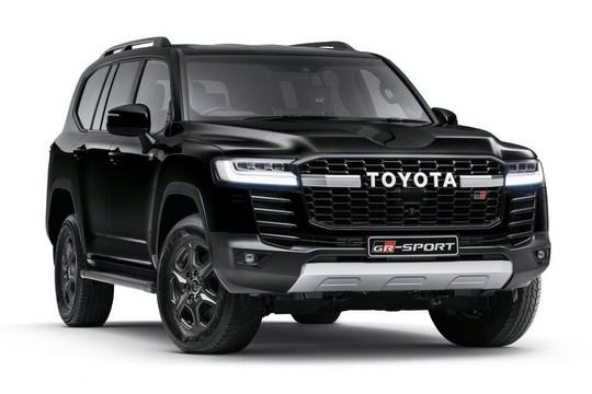 Toyota Land Cruiser GR-S 2022 ra mắt