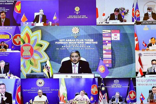 ASEAN+3 nhất trí ưu tiên hợp tác ứng phó COVID-19