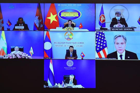 Các nước tiểu vùng Mekong đánh giá cao sự hỗ trợ của Mỹ trong cuộc chiến chống dịch Covid-19