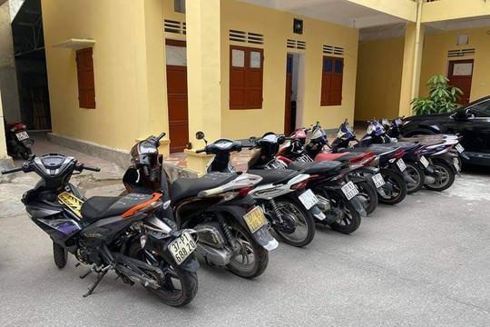 Nghệ An: Bắt nhóm đối tượng gây ra 35 vụ trộm cắp xe máy