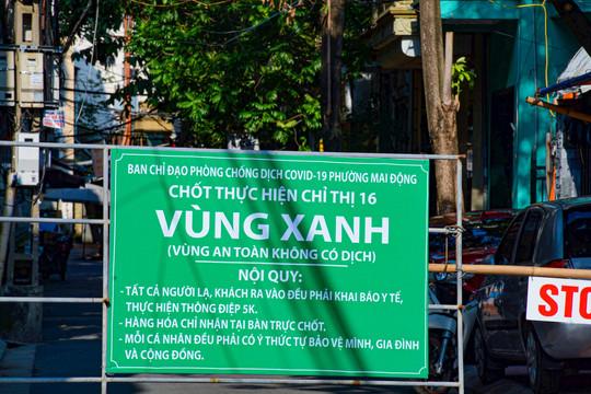 """Cận cảnh những chốt """"Vùng xanh"""" an toàn tại Hà Nội"""