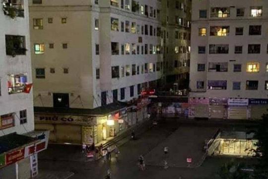Bé gái rơi từ tầng cao chung cư Linh Đàm xuống tử vong