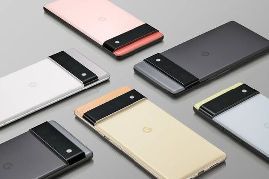 """Bom tấn"" Google Pixel 6 ra mắt"