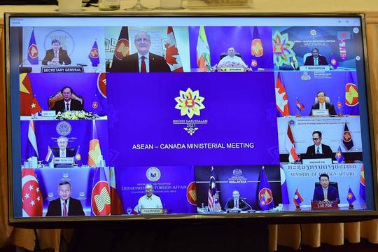 ASEAN - Canada sẽ khởi động đàm phán về Khu vực mậu dịch tự do