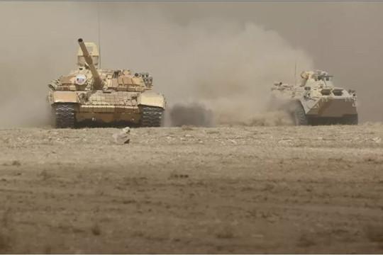 Nga tập trận chung gần biên giới Afghanistan