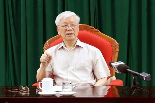 Tổng Bí thư chủ trì phiên họp thứ 20 Ban Chỉ đạo về phòng, chống tham nhũng