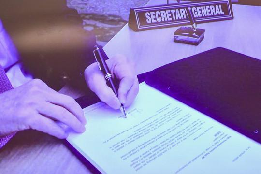 ASEAN trao quy chế Đối tác đối thoại đầy đủ cho Vương quốc Anh