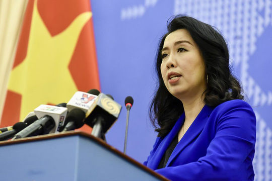 Yêu cầu Trung Quốc chấm dứt, không tái diễn hành động làm phức tạp tình hình Biển Đông
