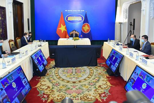 Hội nghị diễn đàn khu vực ASEAN tiếp tục bàn về COVID-19, vaccine, Biển Đông, và Myanmar