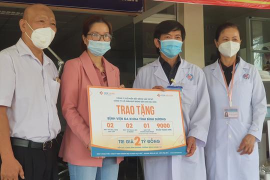 Bệnh viện Đa khoa tỉnh Bình Dương tiếp nhận máy thở phục vụ điều trị bệnh nhân Covid-19