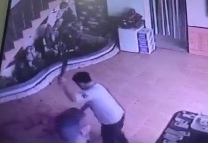 Xác minh clip chém nhân tình dã man trong nhà nghỉ