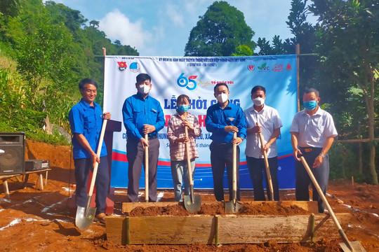 """Khởi công xây dựng 2 """"Ngôi nhà hạnh phúc"""" cho học sinh nghèo, mồ côi ở Sơn La"""