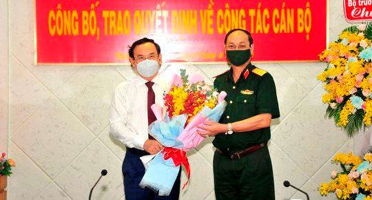 Thăng hàm Trung tướng cho đồng chí Nguyễn Văn Nam