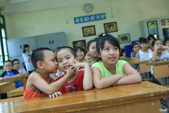 Bắc Giang: Học sinh lớp 1 tựu trường vào ngày 28/8