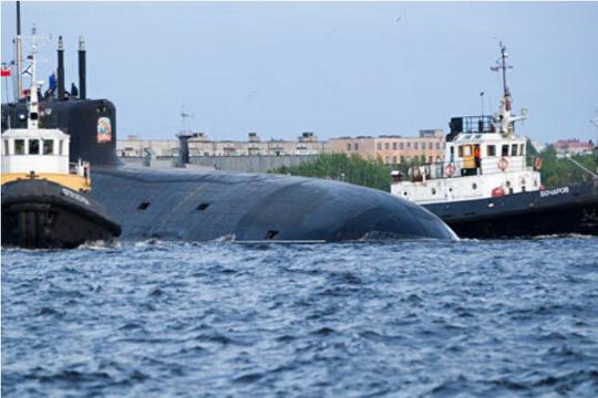 Hải quân Nga sẽ được biên chế ba tàu ngầm hạt nhân vào cuối năm nay