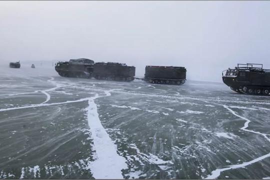 Hải quân Nga sẽ tập trận bảo vệ các vùng lãnh thổ ở Bắc Cực
